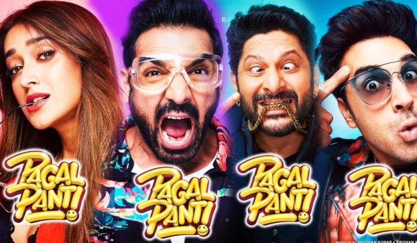Character posters for Pagalpanti released