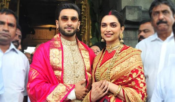 RANVEER SINGH AND DEEPIKA PADUKONE FIRST WEDDING ANNIVERSARY