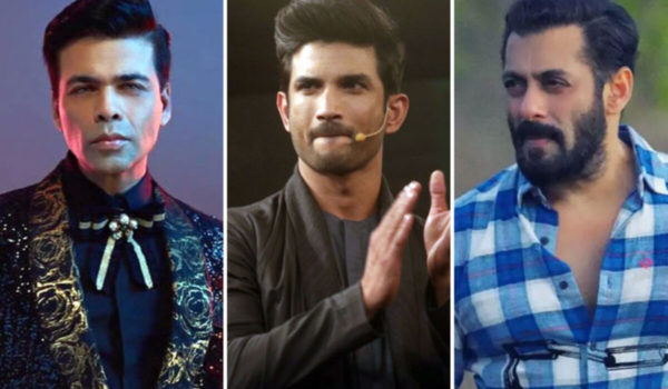 Sushant Singh Rajput Death: Criminal Complaint filed against Karan Johar, Salman Khan, Ekta Kapoor and five other celebrities in a Bihar court.